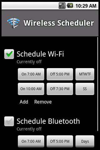 Wireless Scheduler Full