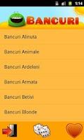Screenshot of Bancuri