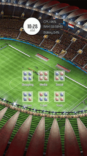Football Field Soccer Theme - screenshot