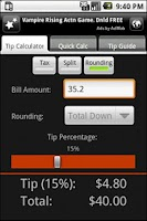 Screenshot of Tipped Off - Tip Calculator