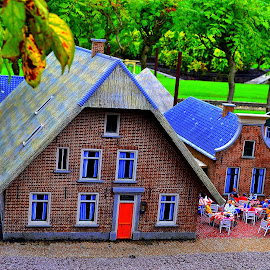 Holiday cottage.... :-)  by Ana Wisniewska - Artistic Objects Toys