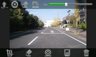 Screenshot of classic camera