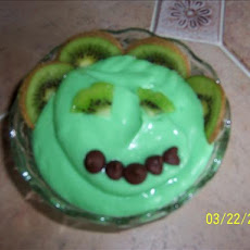 Kiwi Green Goblin Pudding
