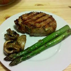 Grilled Rosemary Pork Chops