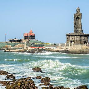 Kanyakumari, India by Neelakantan Iyer - Buildings & Architecture Statues & Monuments (  )
