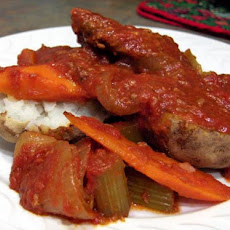 Swiss Steak for the Crock Pot