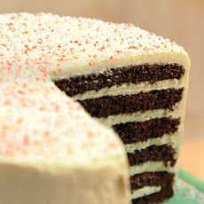 Chocolate-Peppermint Cake