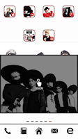 Screenshot of SHINee dodol theme ex-pack