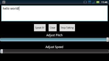 Screenshot of Text To Speech - Text Reader