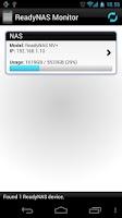 Screenshot of ReadyNAS Monitor