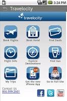 Screenshot of Travel Compass