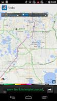 Screenshot of Hurricane Tracking Center