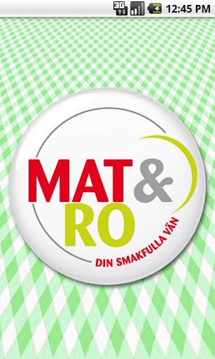 【免費生活App】Mat & Ro-APP點子