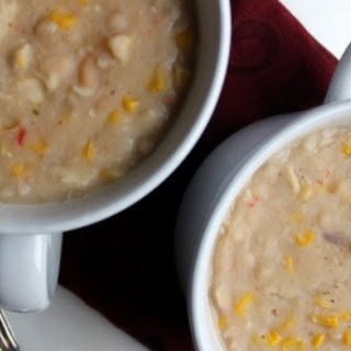 Creamy White Beans and Corn Soup