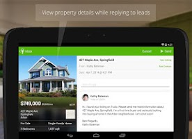 Screenshot of Trulia for Agents