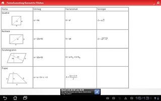 Screenshot of Mathe Lexikon
