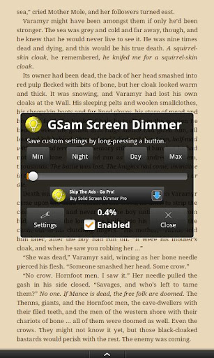 GSam Screen Dimmer - Free