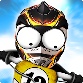 Stickman Downhill Motocross APK Icon