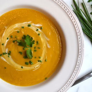 Curried Butternut Squash Bisque