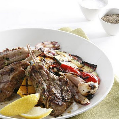 Lamb Chops with Lemongrass and Ginger