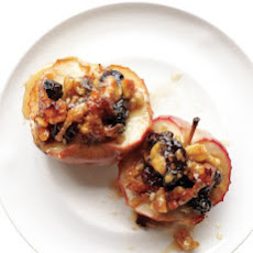 Walnut-Raisin Baked Apples