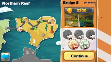 Screenshot of Bridge Constructor Playground
