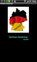 Screenshot of German Grammar DEMO