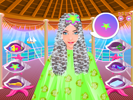 Screenshot of ocean spa salon girls games