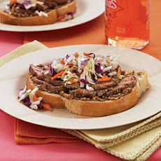 Sweet-Spiked Pork Sandwiches