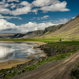 Raudasandur by Daniel Herrero García - Landscapes Waterscapes ( westfjords, iceland, beach, west fjords, raudasandur,  )