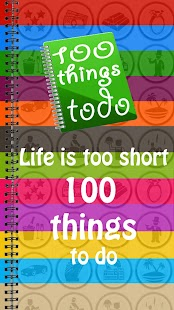 100 Things To Do - screenshot