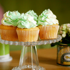 Wasabi & White Chocolate Cupcakes