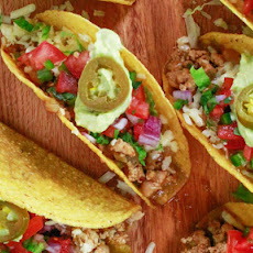White Chili Turkey Tacos