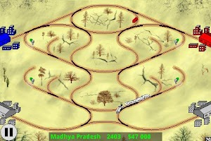 Screenshot of Railway Game in India
