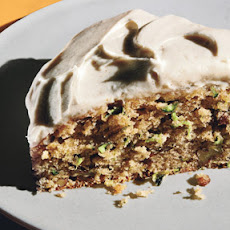 Zucchini-Pecan Cake with Cream Cheese Frosting