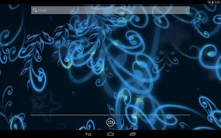 Screenshot of Magical Flourish LiveWallpaper