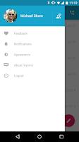 Screenshot of Forward SMS texting w/ 2phones