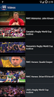Screenshot of Rugby 2015. World Cup