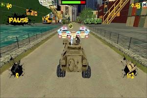 Screenshot of Crazy Tank Death Racing 3D