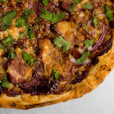 Smoked Duck Pizza with Hoisin