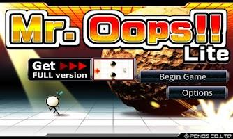 Screenshot of Mr.Oops!!
