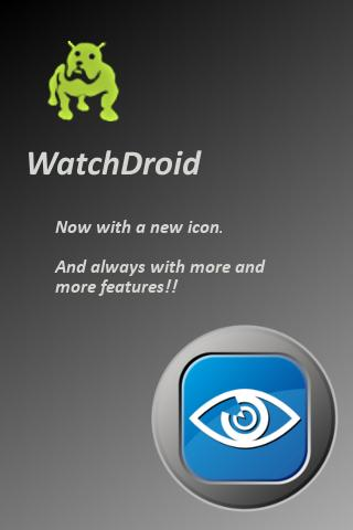 watchdroid-pro for android screenshot