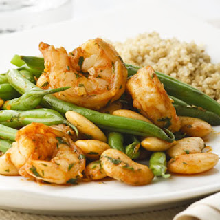 Paprika Shrimp and Green Bean Sauté
