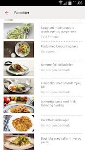 TV 2 Food - Recipes for Dinner - screenshot