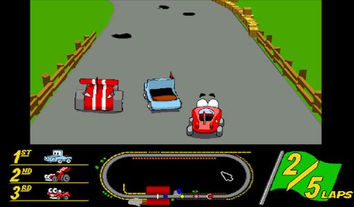 Putt-Putt Enters the Race - screenshot