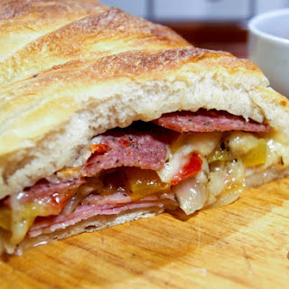 Super Stuffed Stromboli