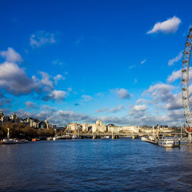 London Eye by Mihai Camen - City,  Street & Park  Amusement Parks