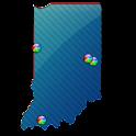 Indiana Fishing Maps - 5.5K icon