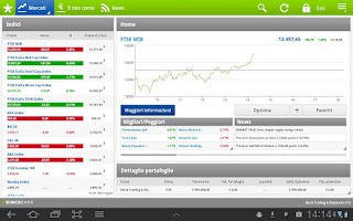 Screenshot of Binck Trading App
