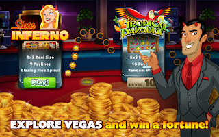Screenshot of Slots Jackpot Inferno Casino
